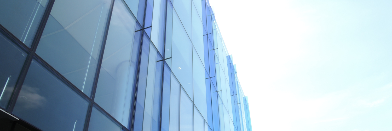 Glasbau Glasfassade